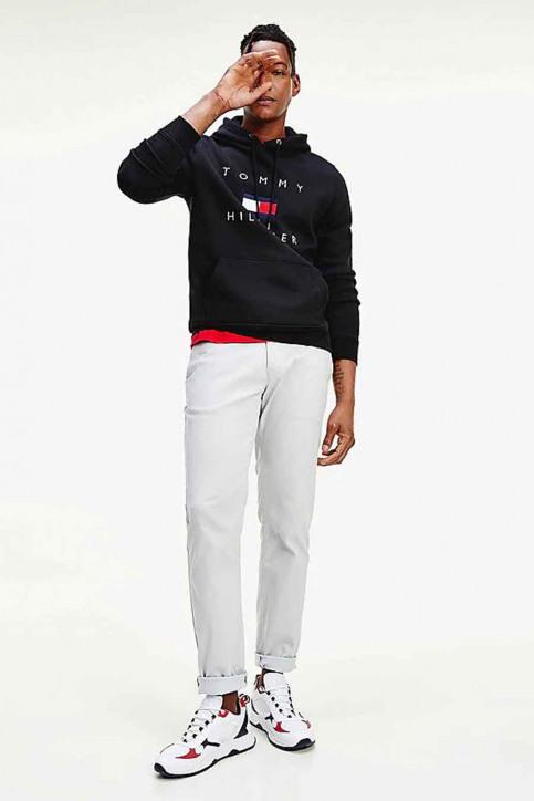 Tommy Jeans Sweats avec capuchon bleu MW0MW14203_DW5 DESERT SKY img2