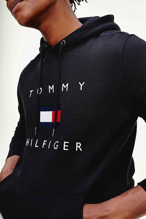 Tommy Jeans Sweats avec capuchon bleu MW0MW14203_DW5 DESERT SKY img4