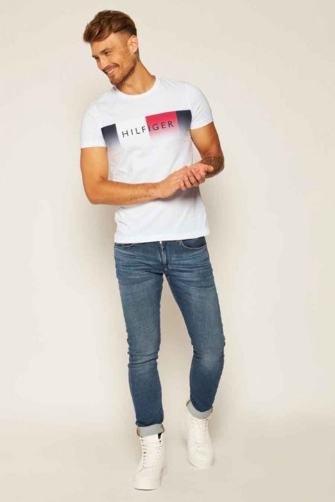 Tommy Jeans T-shirts (manches courtes) blanc MW0MW14311_YBR WHITE img2