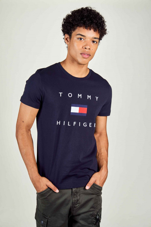 Tommy Jeans T-shirts (manches courtes) bleu MW0MW14313_DW5 DESERT SKY img2