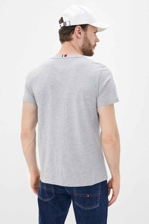 Tommy Jeans T-shirts (manches courtes) gris MW0MW14313_PG5 MEDGREYHEAT img2