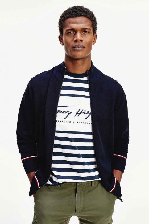 Tommy Jeans Gilets blauw MW0MW14760_DW5 DESERT SKY img1