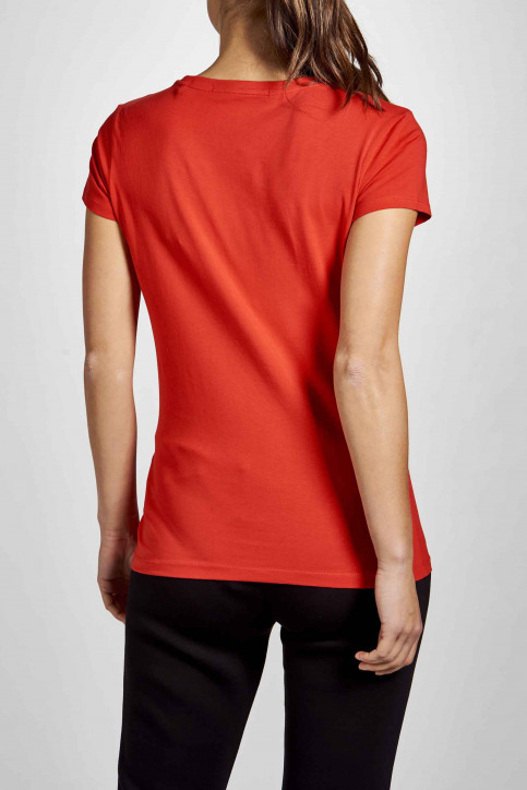 GUESS Tops uni manche courte rouge O94I02J1311_G587 img2