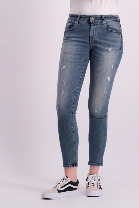 ONLY Jeans skinny denim ONLALBA REG SK ANK_BL203MED B DES img1