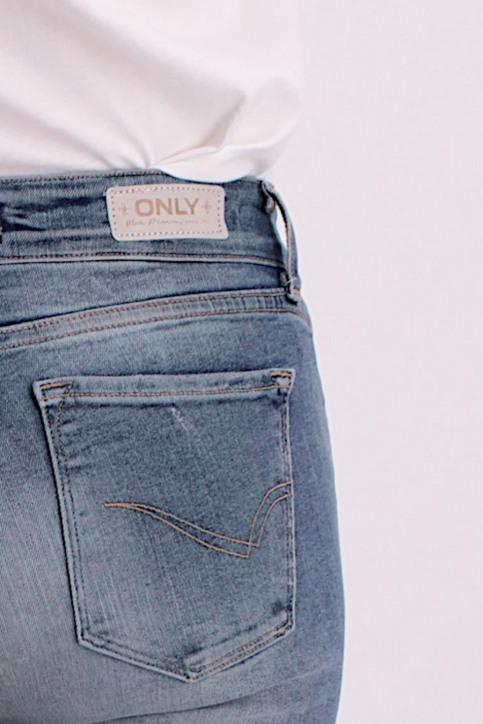 ONLY Jeans skinny denim ONLALBA REG SK ANK_BL203MED B DES img5
