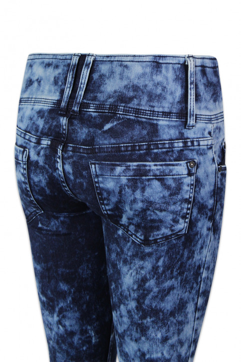 ONLY Jeans skinny denim ONLANEMONE LOW SKINN_DARK BLUE DENIM img4