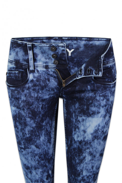 ONLY Jeans skinny denim ONLANEMONE LOW SKINN_DARK BLUE DENIM img6