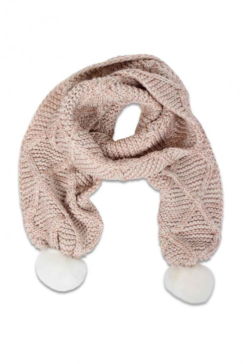ONLY Wintersjaals roze ONLASTA KNIT SC_CAMEO ROSEWH img1
