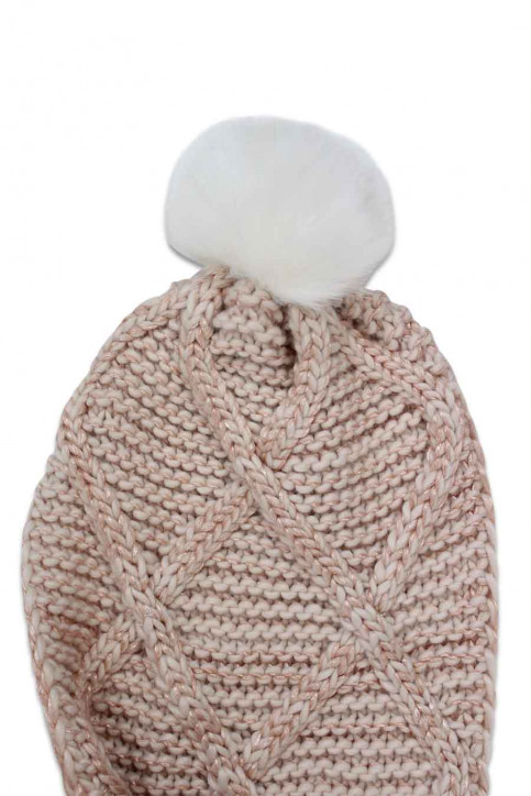 ONLY Wintersjaals roze ONLASTA KNIT SC_CAMEO ROSEWH img2