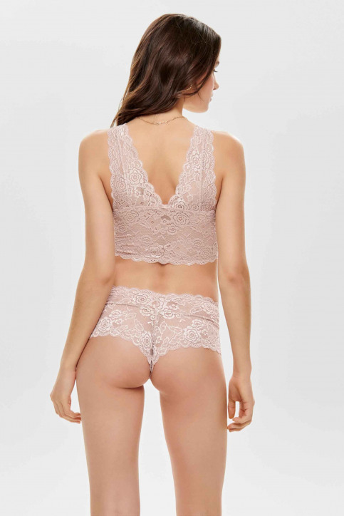 ONLY Beha roze ONLCHLOE LACE BRA_ROSE SMOKE img3