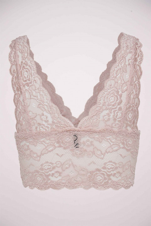 ONLY Soutien-gorge rose ONLCHLOE LACE BRA_ROSE SMOKE img9