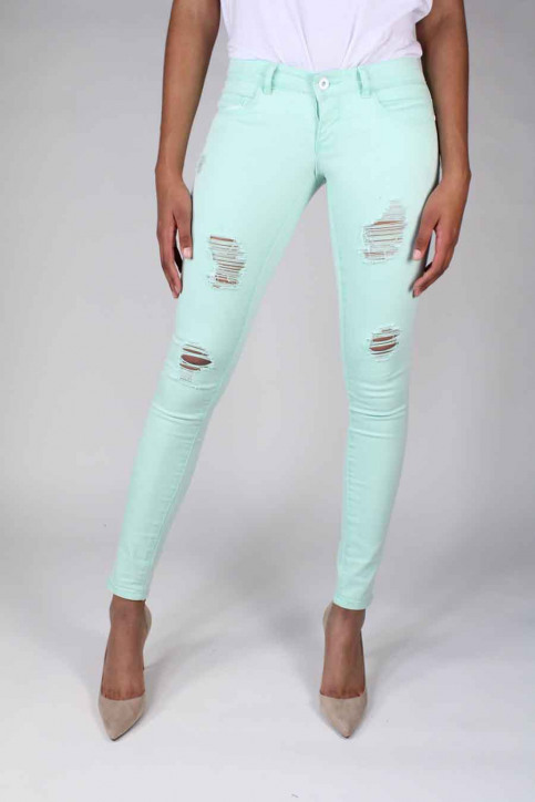 ONLY Jeans skinny groen ONLCORAL SUPERLOW SK_BAY img1