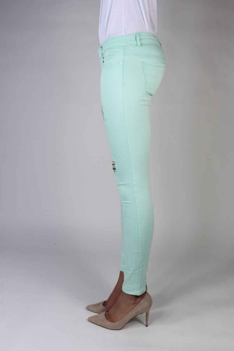 ONLY Jeans skinny groen ONLCORAL SUPERLOW SK_BAY img2
