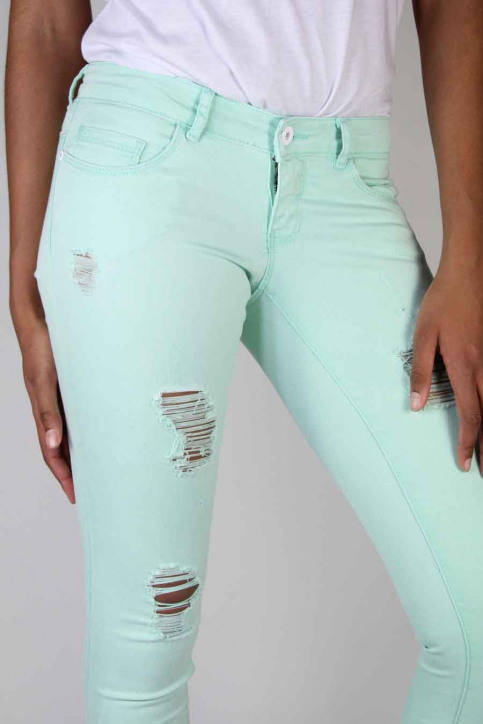 ONLY Jeans skinny groen ONLCORAL SUPERLOW SK_BAY img5