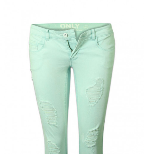 ONLY Jeans skinny groen ONLCORAL SUPERLOW SK_BAY img6