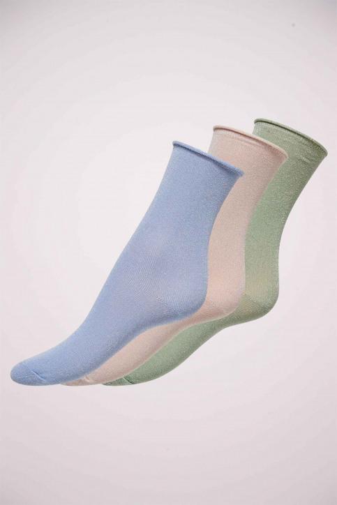 ONLY Sokken blauw ONLDARLA METALLIC SO_CASHMERE BLUE img1