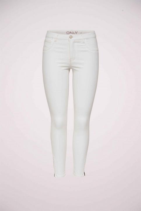 ONLY Pantalons colorés blanc ONLKENDELL REG SK AN_WHITE img1