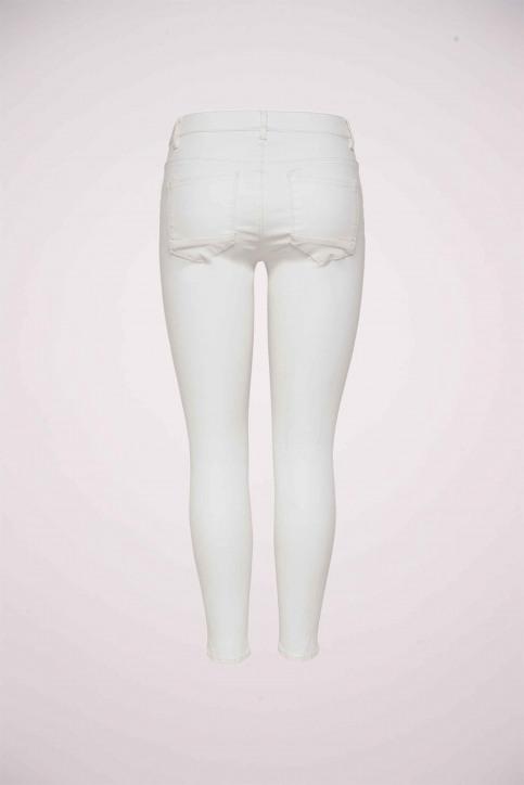 ONLY Pantalons colorés blanc ONLKENDELL REG SK AN_WHITE img3