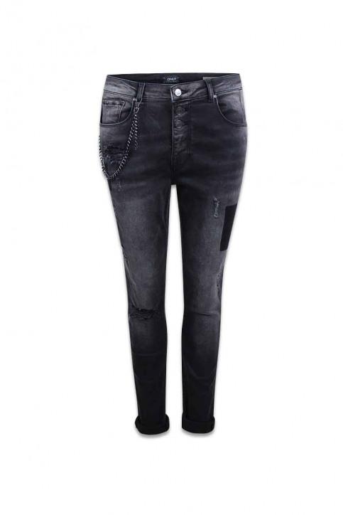 ONLY Jeans coupe spécial gris ONLLIBERTY ANTIFIT_REA17942BLACK img1