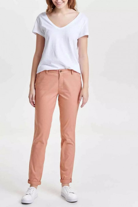 ONLY Chino's roze ONLPARIS REG SKINNY_ROSE DAWN img2