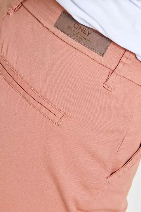 ONLY Chino's roze ONLPARIS REG SKINNY_ROSE DAWN img4