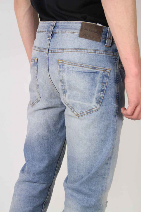 ONLY & SONS Jeans slim denim ONSLOOM_5083LIGHT DEST img4