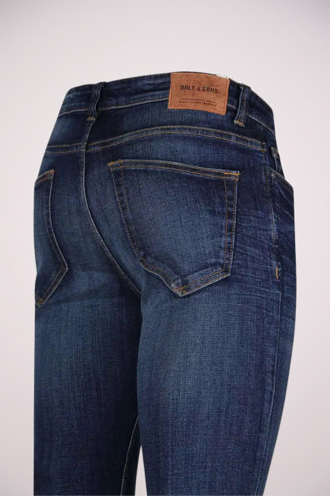 ONLY & SONS Jeans slim denim ONSLOOM_6972DARK BLUE img4