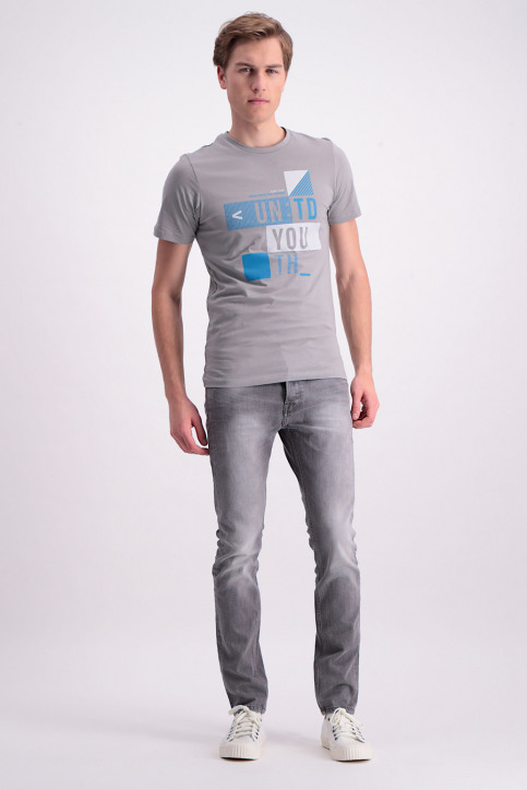 ONLY & SONS Jeans slim gris ONSLOOM_8532GREY DENIM img2