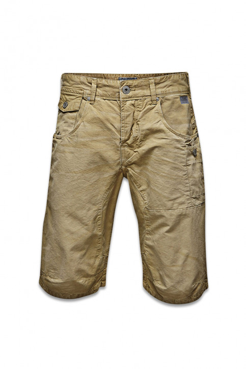 Shorts blauw OSAKA LONG SHORTS_TWILL img1