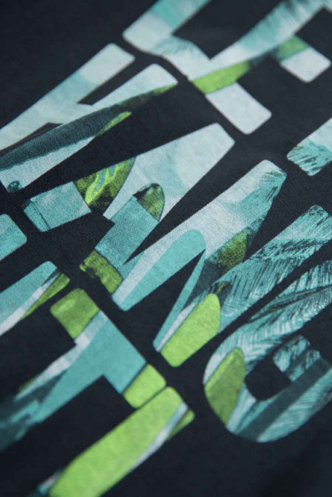 GARCIA T-shirts met korte mouwen grijs P05400_2884 DARK GREY img3