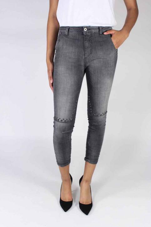 Please Jeans boyfriend P53MHK5EL1_1970 NERO STUD img1