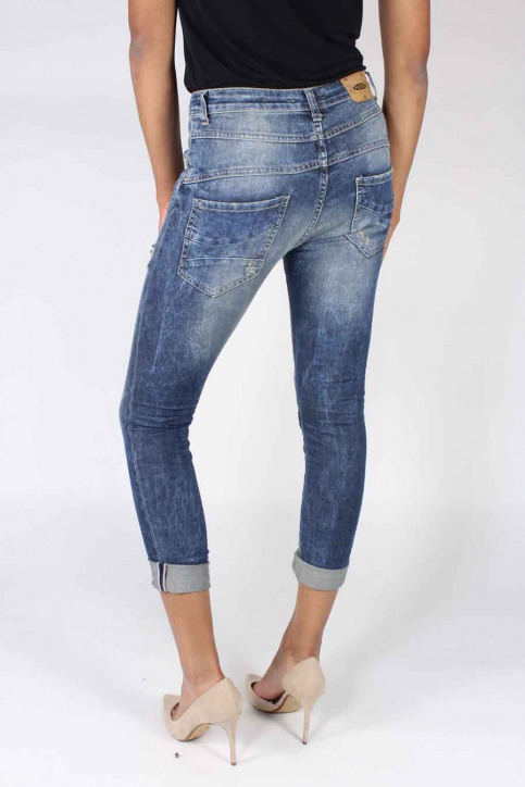 Please Jeans boyfriend P78ABQ2DC9_1670 BLU DENIM img3