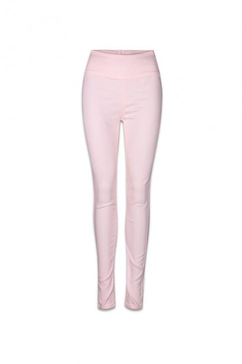PIECES Pantalons colorés rose PCJUST JUTE HW LEGGI_PEARL img1