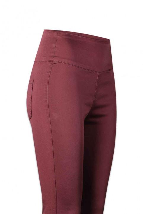 PIECES Pantalons PCJUST JUTE HW LEGG_DECADENT CHOCOL img5