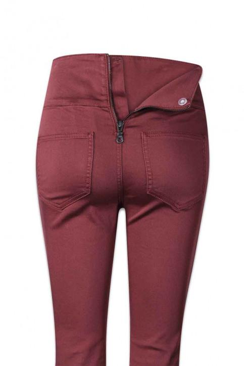PIECES Pantalons PCJUST JUTE HW LEGG_DECADENT CHOCOL img6
