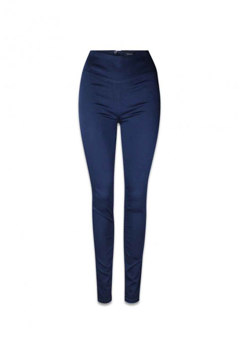 PIECES Pantalons bleu PCJUST JUTE HW LEGG_NAVY BLAZER img1