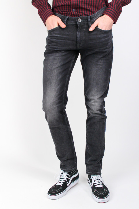 Tom Tailor Jeans slim zwart PIERS_1057BLACK img1