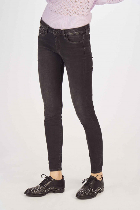 Pepe Jeans Jeans skinny noir PL201073WB9_BLACK USED img1