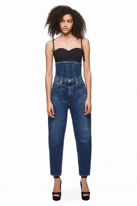 Pepe Jeans Jeans boyfriend bleu PL203601_INDIGO img1