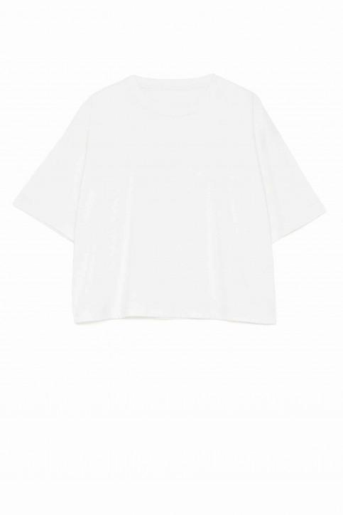 Pepe Jeans Tops uni manche courte blanc PL504331_800 WHITE img6