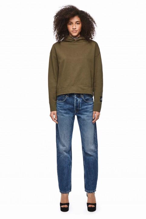 Pepe Jeans Sweats avec capuchon vert PL580907_765 KHAKI GREEN img2