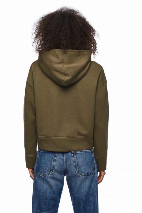 Pepe Jeans Sweats avec capuchon vert PL580907_765 KHAKI GREEN img3