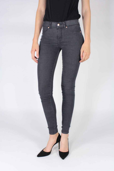 Dr. Denim Jeans skinny zwart PLENTY_OLD BLACK img1