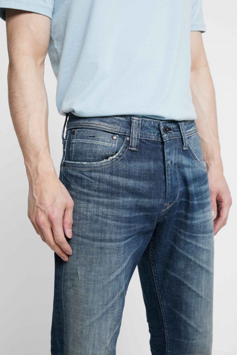 Pepe Jeans Jeans straight denim PM200124UC6_UC6 BLUE GREY H img1