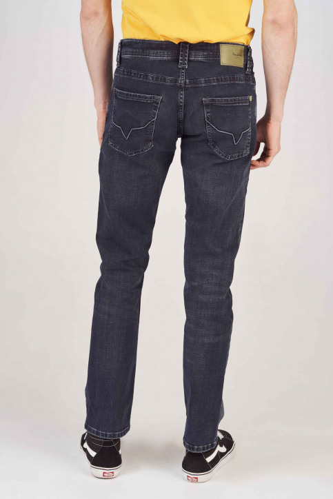 Pepe Jeans Jeans straight noir PM200124WX7_BL BLCK WISER W img3