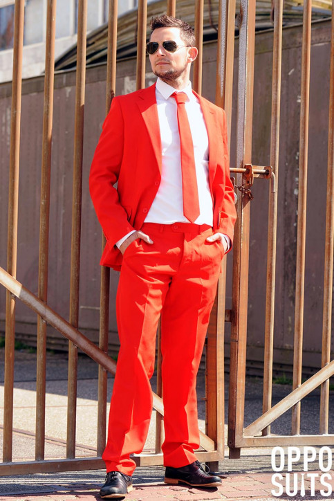 Opposuits Costumes carnaval rouge RED DEVIL_0014 img4