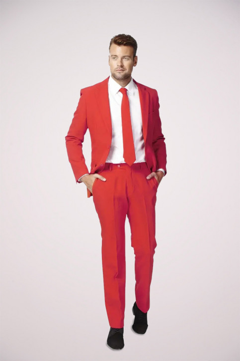 Opposuits Costumes carnaval rouge RED DEVIL_0014 img5