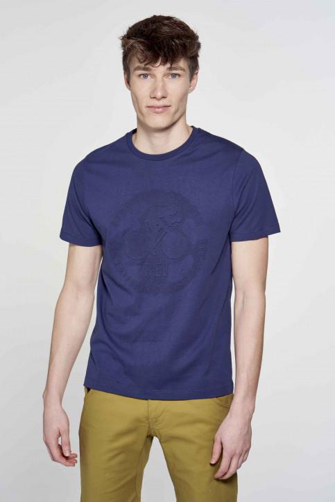 R.EV 1703 by Remco Evenepoel T-shirts (korte mouwen) blauw REV211MT 002_NAVY img1
