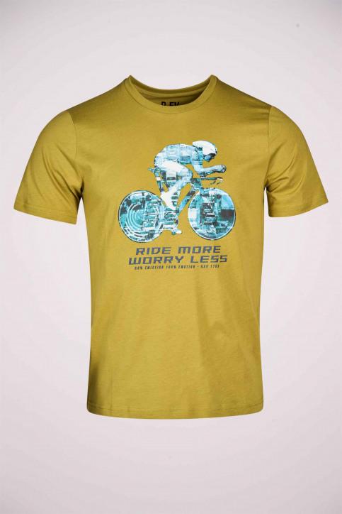 R.EV 1703 by Remco Evenepoel T-shirts (korte mouwen) groen REV211MT 008_GREEN MOSS img5