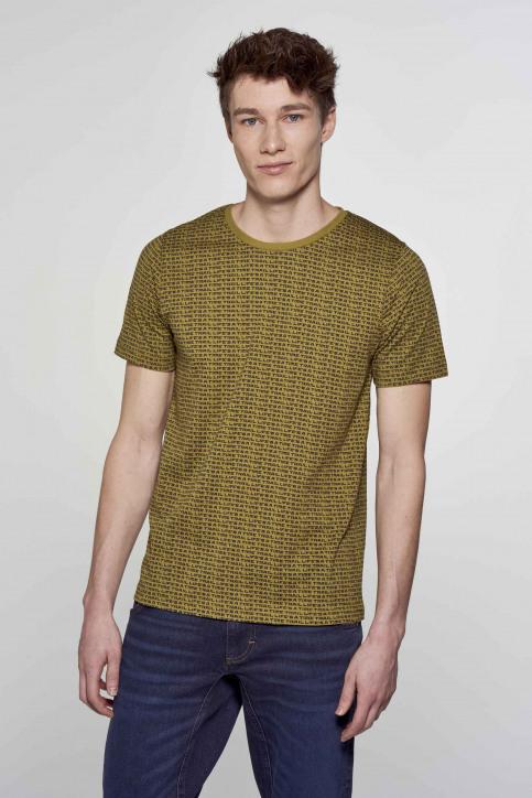 R.EV 1703 by Remco Evenepoel T-shirts (korte mouwen) groen REV211MT 012_GREEN MOSS img1